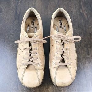 BORN light brown leather sneakers size 6.5/37